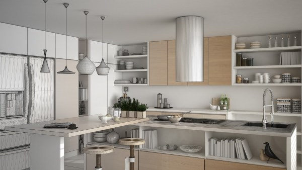 kitchen cabinet trends open shelving