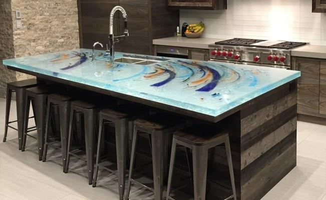 4 Unique Kitchen Countertop Materials