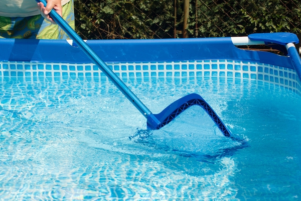 easy maintenance benefits of an above ground pool