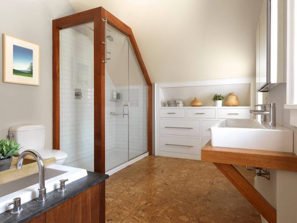 cork flooring bathroom flooring