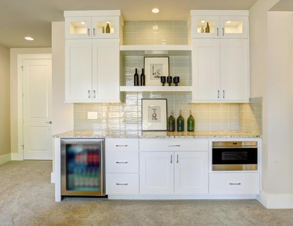 basement kitchen kitchenette wet bar best basement projects roi