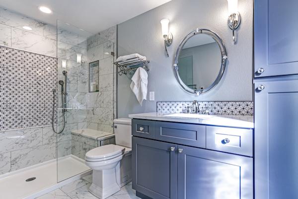 blue bathroom vanity pantone colour of the year