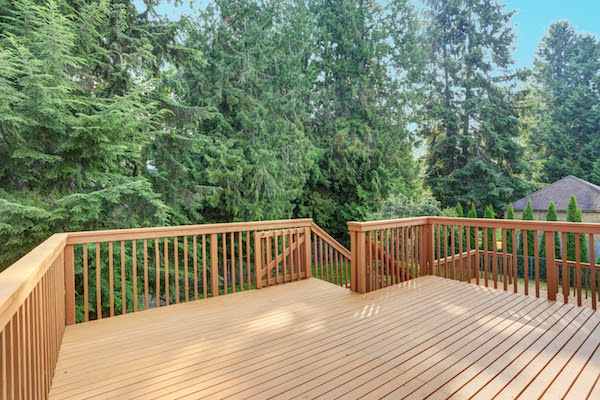 wooden best deck material canada