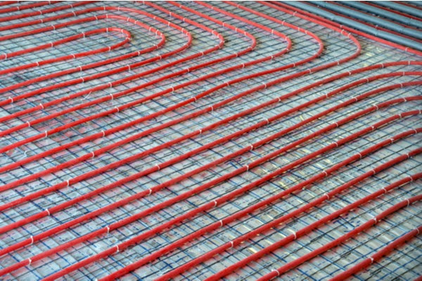 hydronic radiant heating