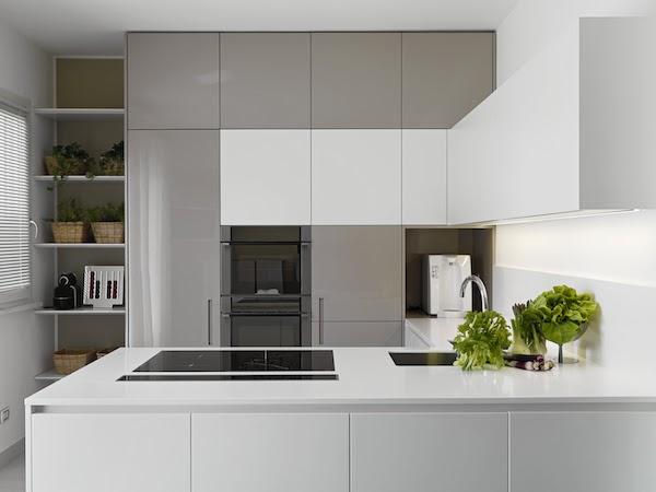 seamless kitchen cabinets