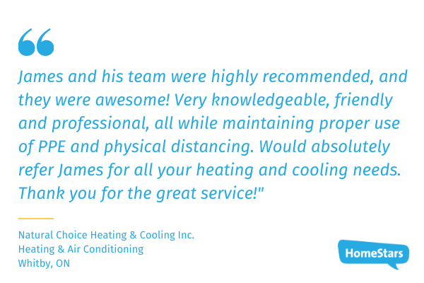 review for natural choice heating