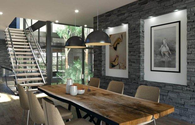 kbk architects dining room