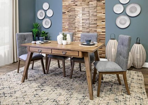 How To Double Your Dining Room As an Office from Home Zone Furniture