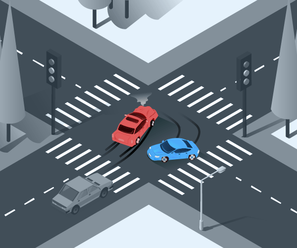 Intersection collision