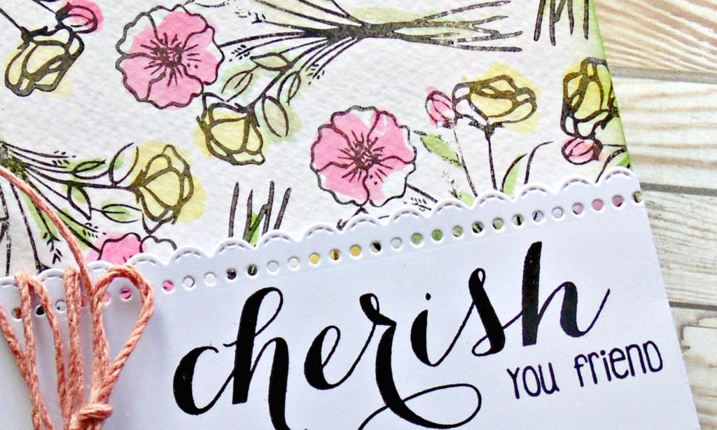 Shabby Watercolour Background