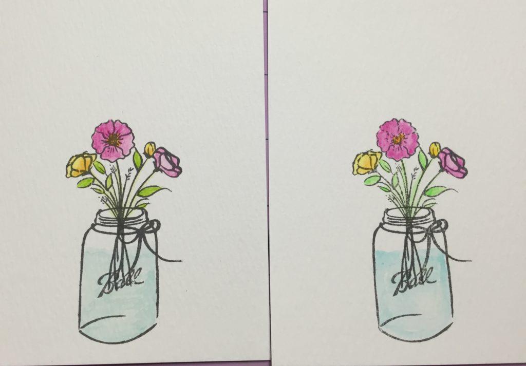 Distress crayons vs. Faber-Castell Gelatos