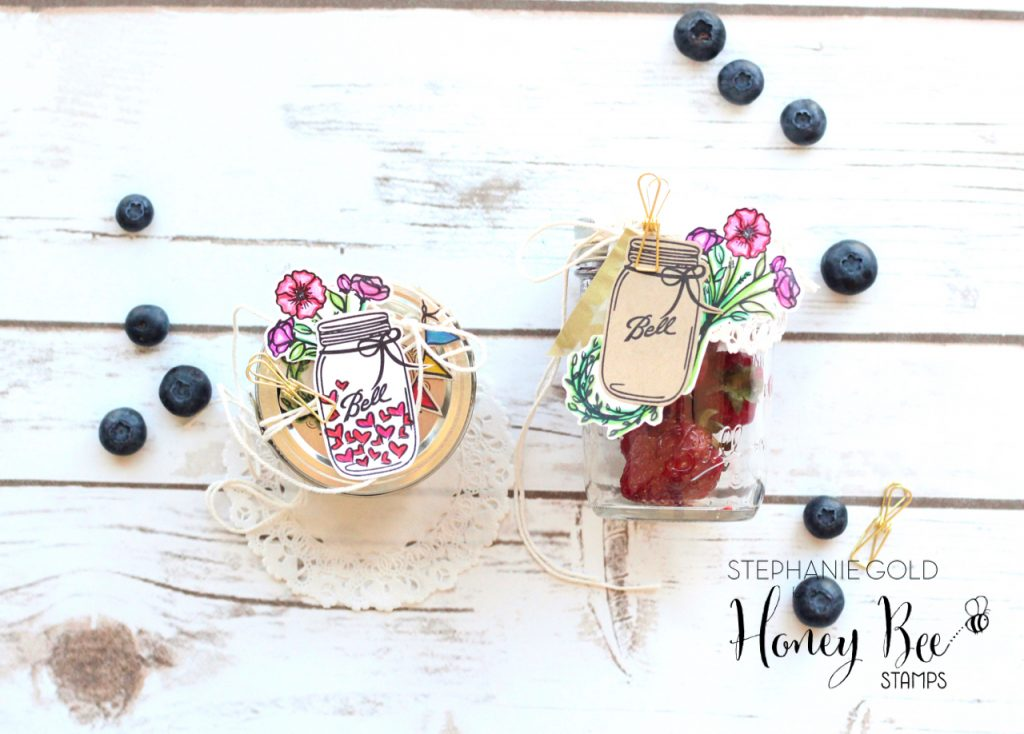 Not Too Shabby Mason Jar Tags | Stephanie Gold