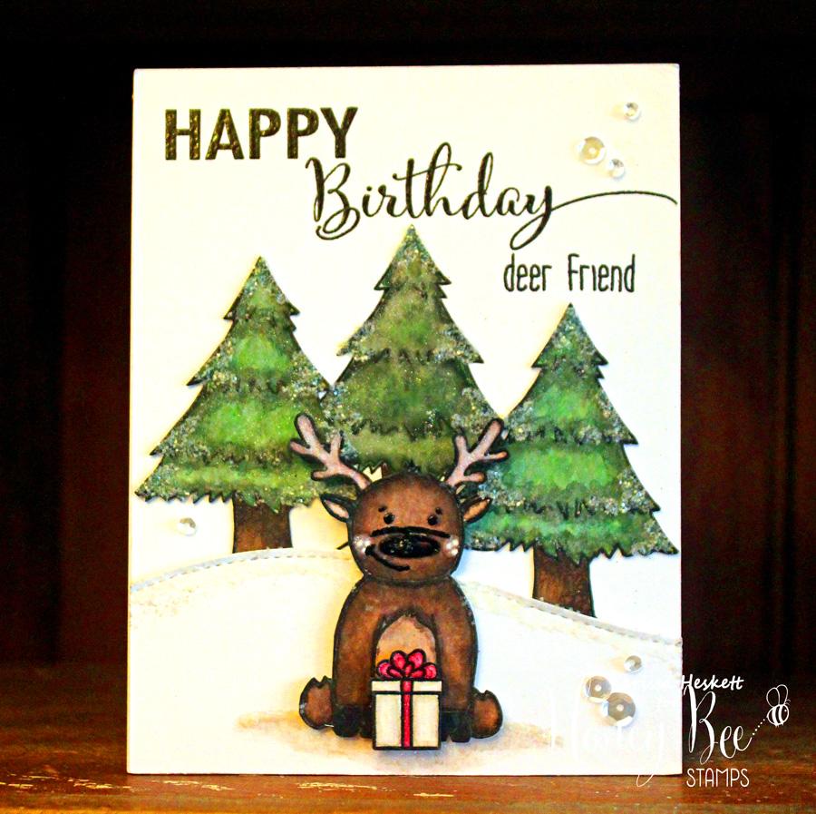 Christmas Reindeer in July Scene!! =)