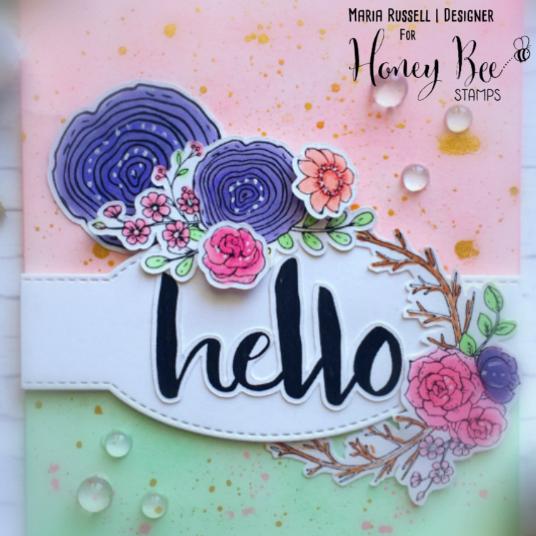 Hello Card by Maria Russell