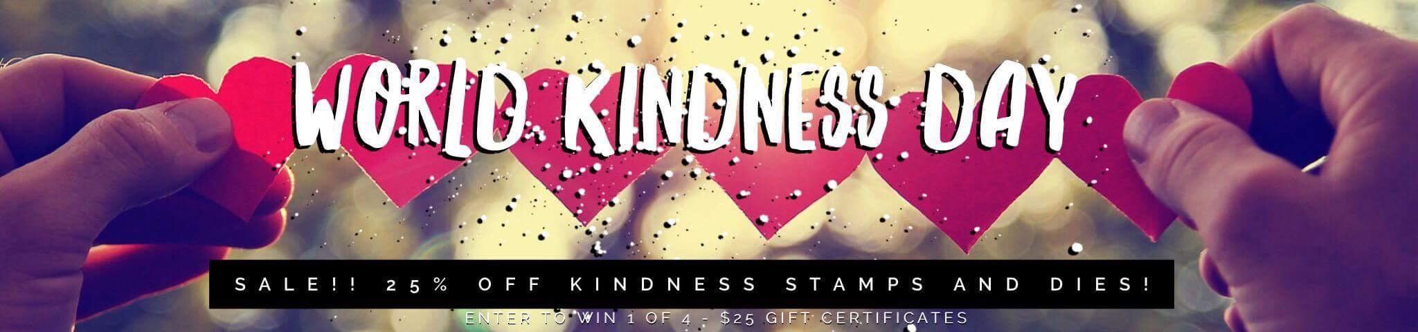 Celebrating World Kindness Day!