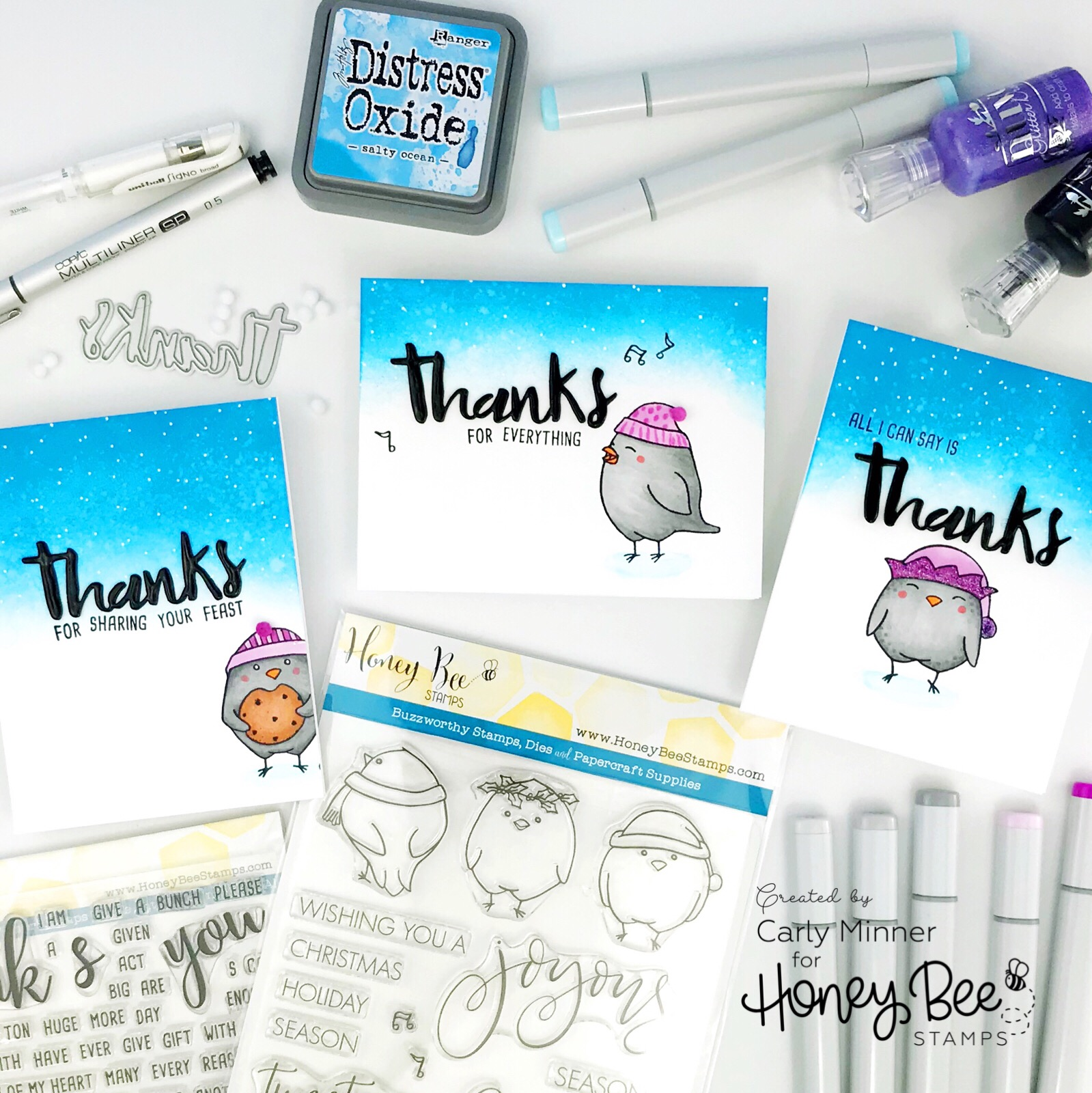 Three Ways to Stretch Your Stamps with Carly