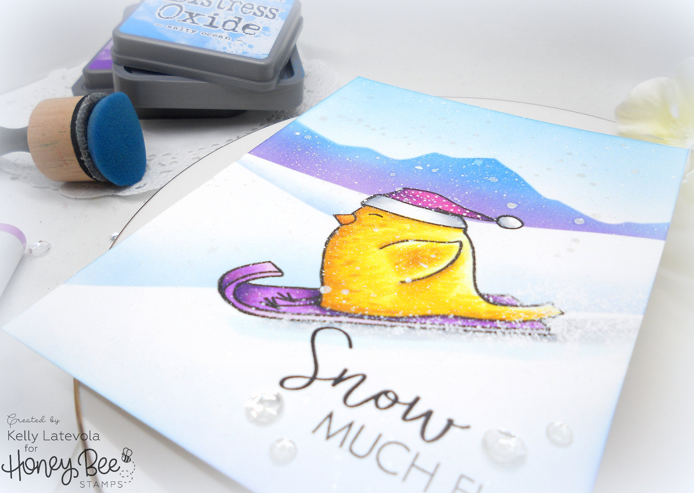 Snow Much Fun: Creating A Snow Scene with Kelly Latevola