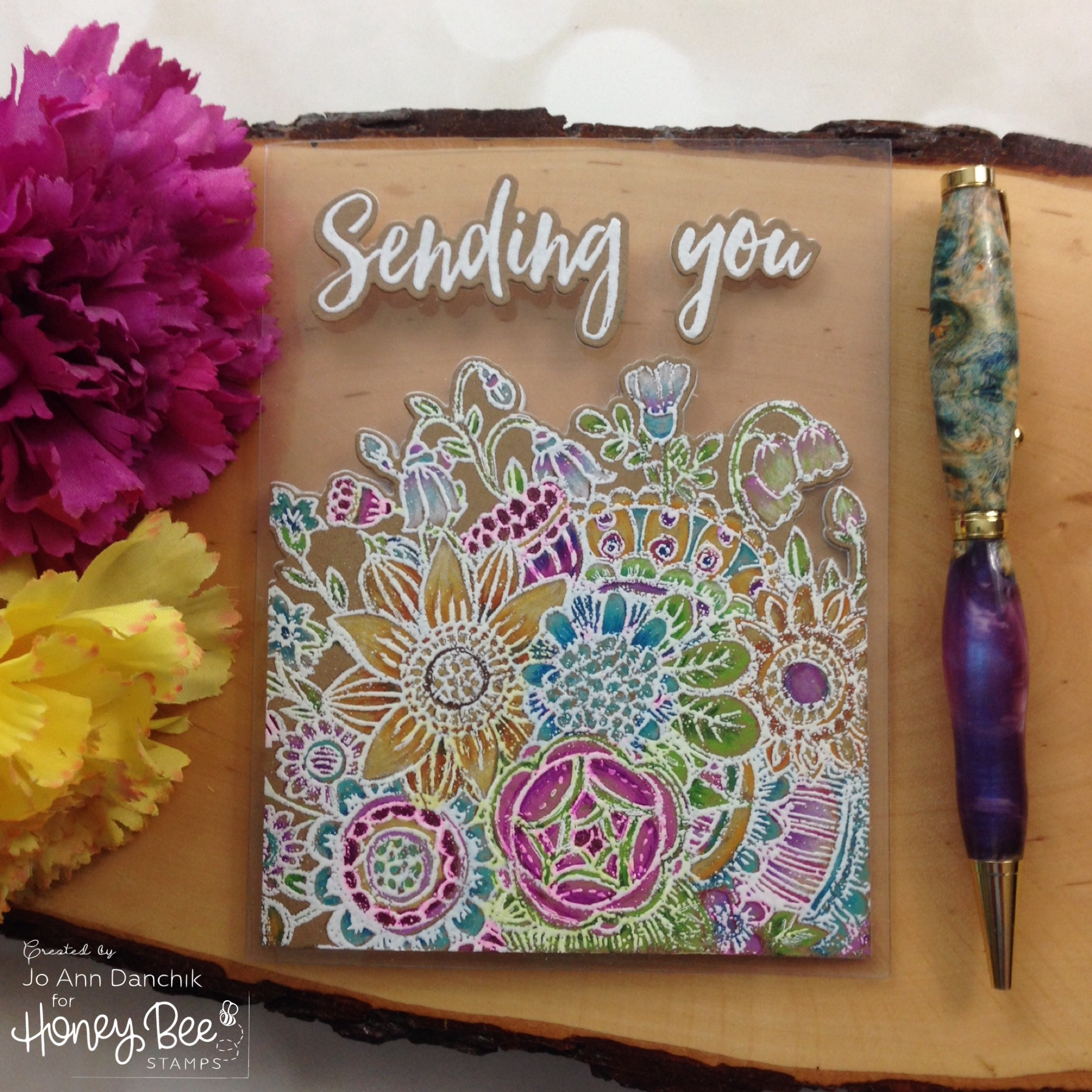 Creative Sundays With Jo Ann: Sending You My Love