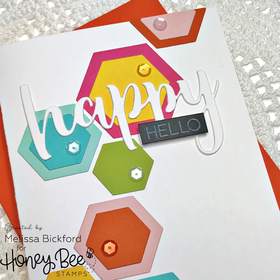 Happy Hello Hexagons