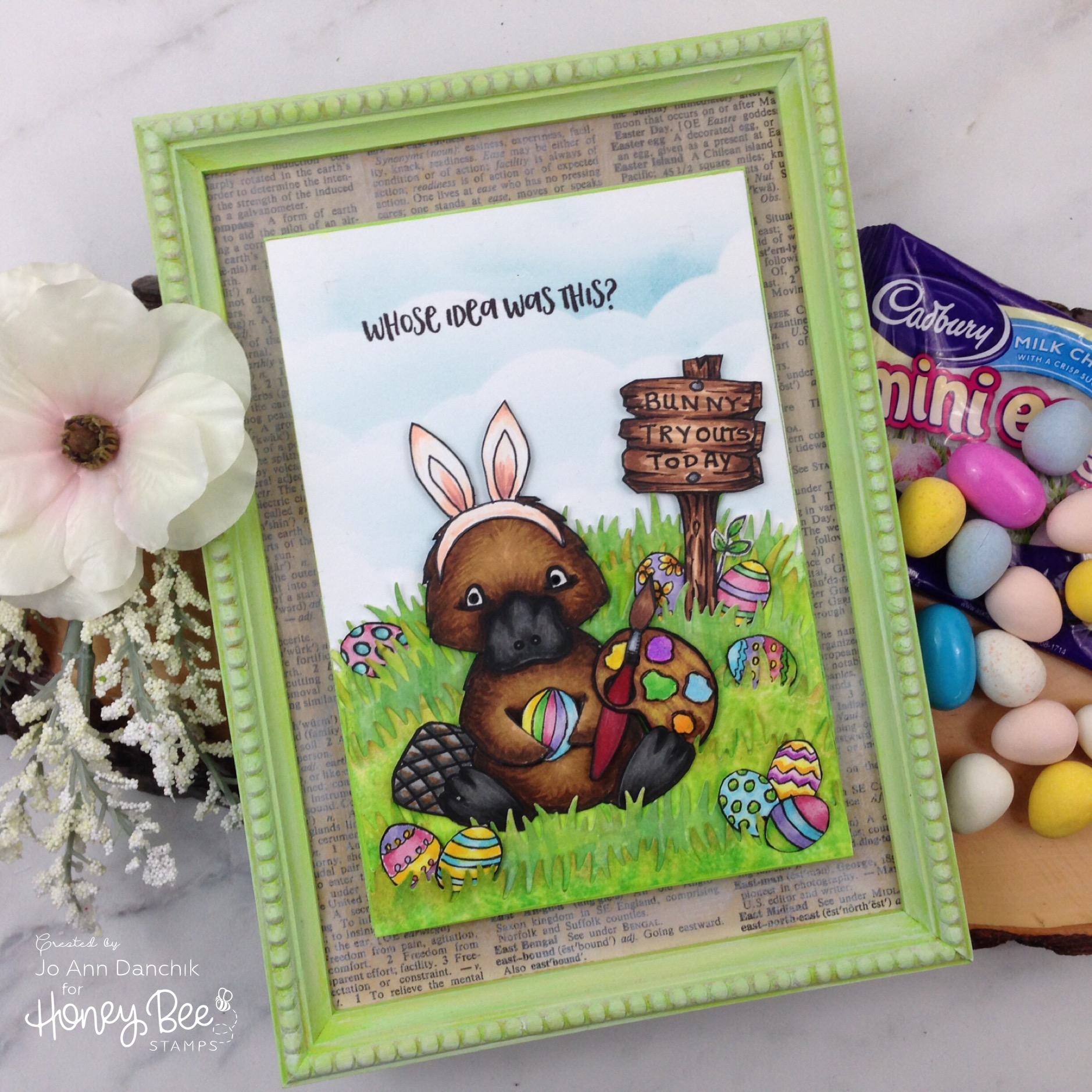 Creative Sundays With Jo Ann: Bunny Tryouts Today
