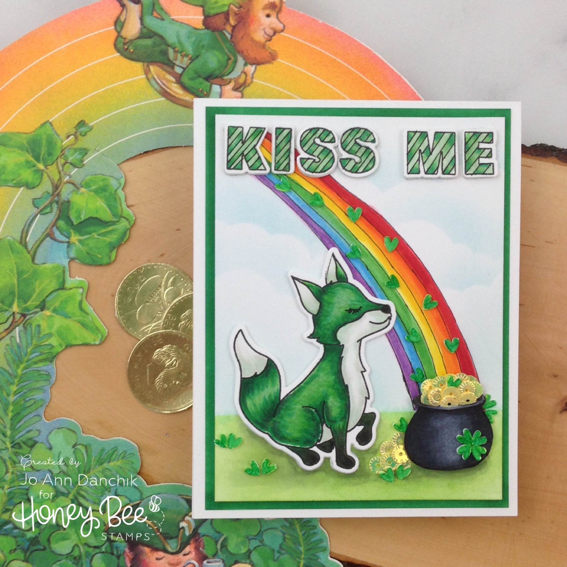 Creative Sundays With Jo Ann: Kiss Me…I'm Irish