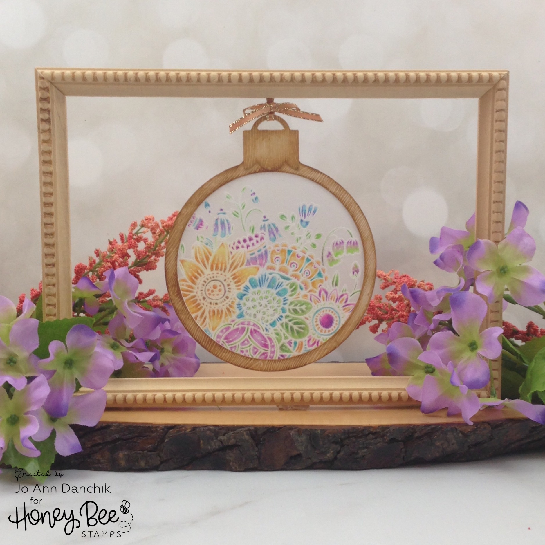Creative Sundays With Jo Ann: Suncatcher Bouquet