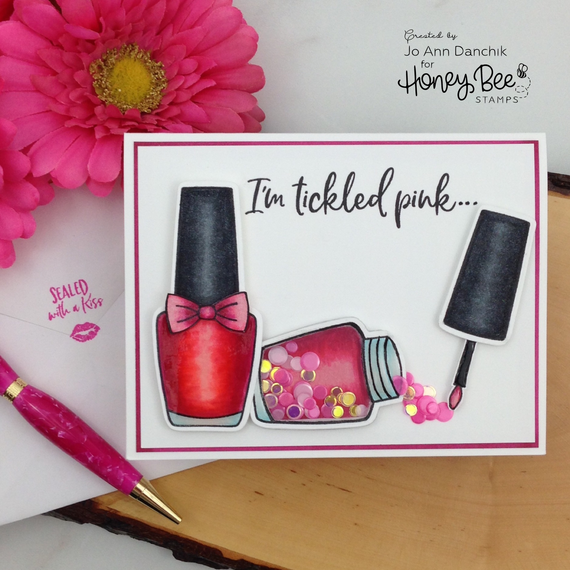 Creative Sundays With Jo Ann: Tickled Pink