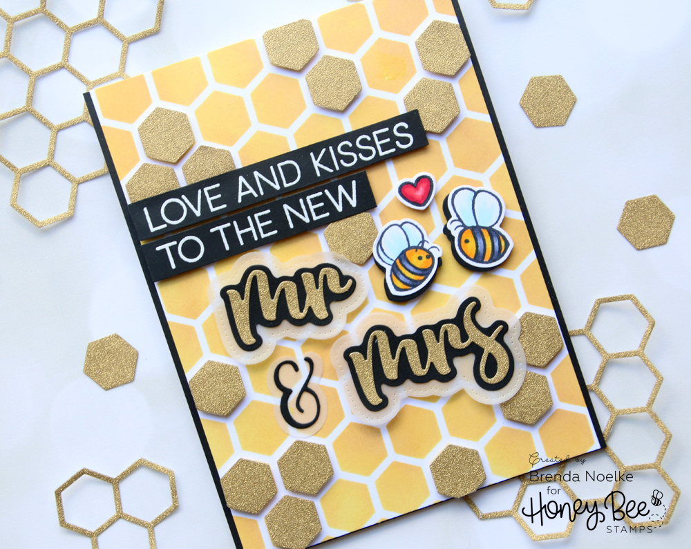 Love and Kisses to the New Mr & Mrs