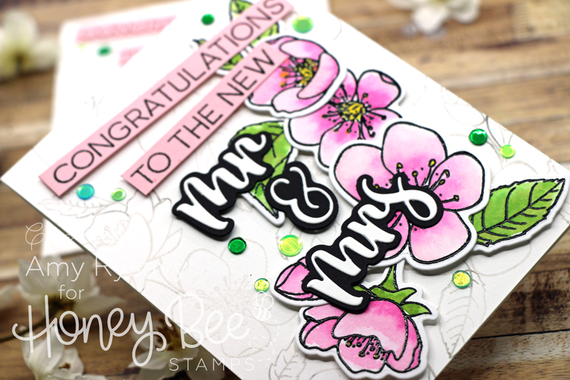Spring Blossoms Wedding Card with Amy Rysavy