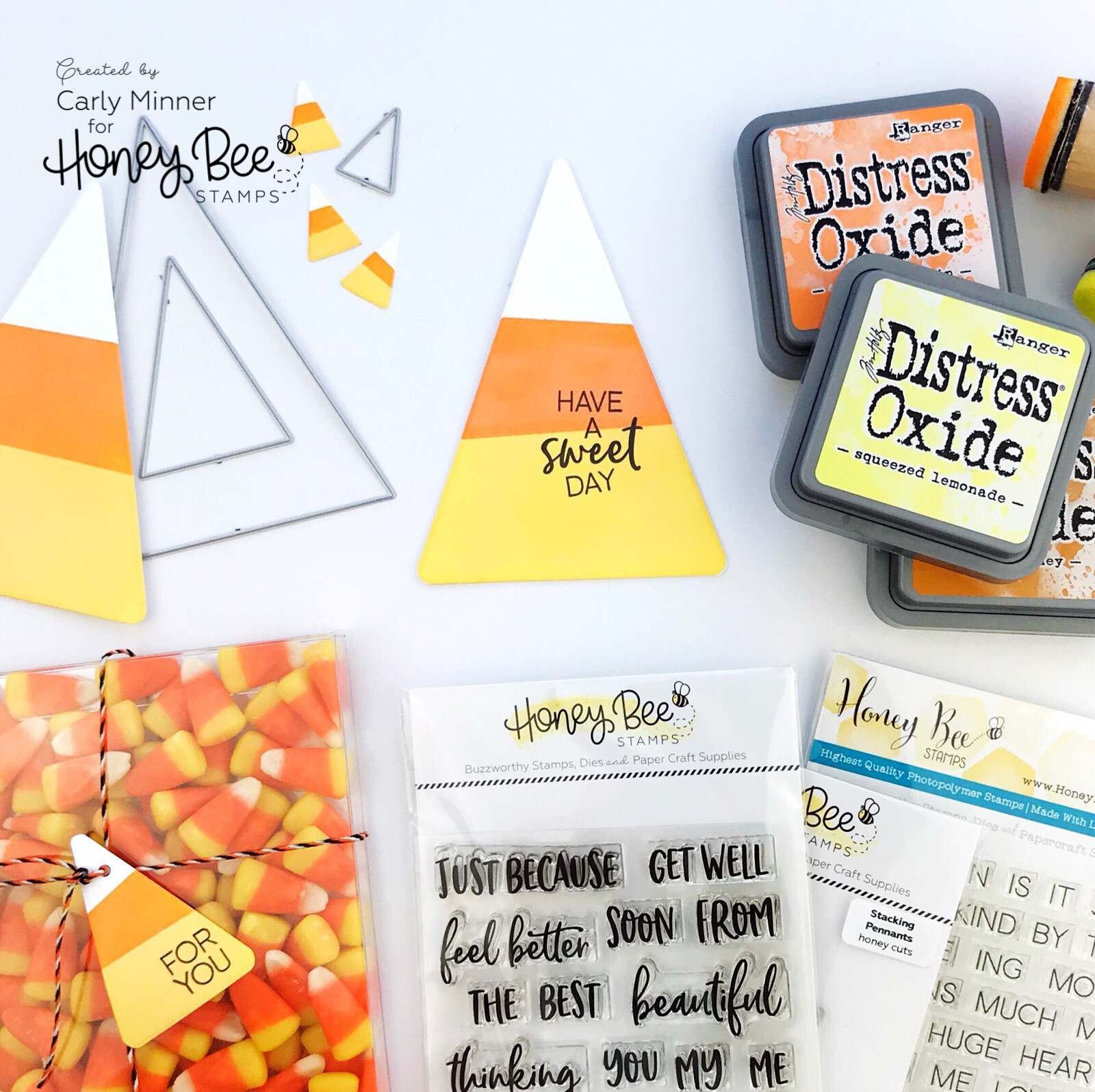 DIY Candy Corn Halloween Card