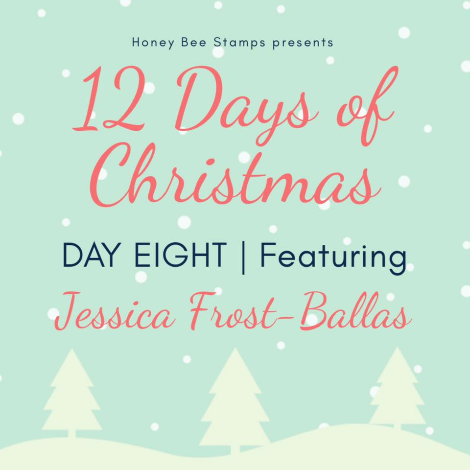 Twelve Days of Christmas – Day Eight Designer: Jessica Frost-Ballas
