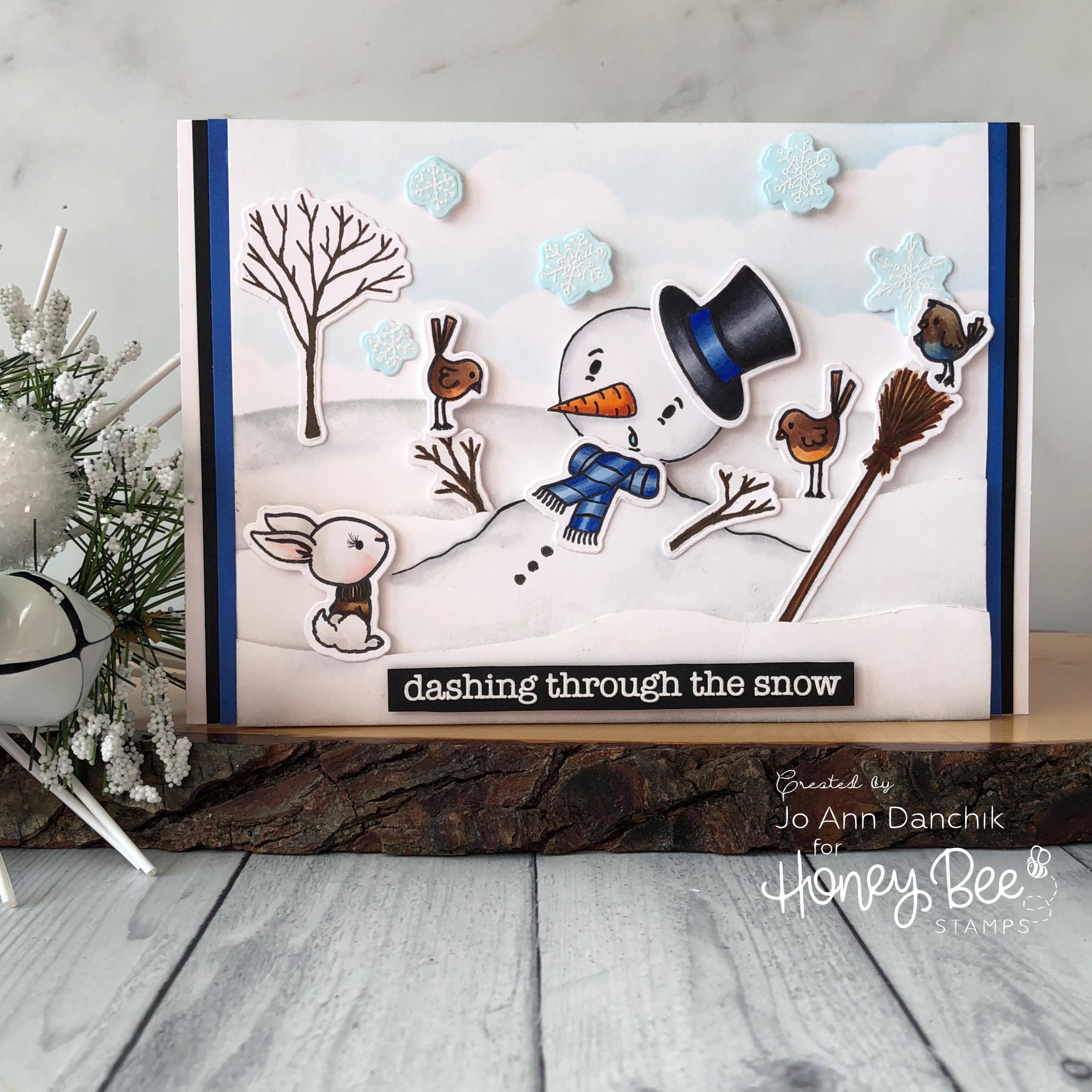 Creative Sundays With Jo Ann: Dashing Through The Snow