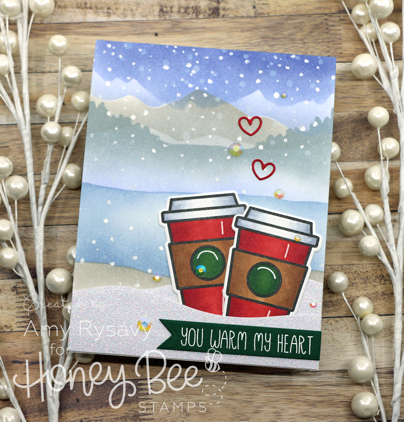 Coffee Break Winter Scene Card with Amy Rysavy
