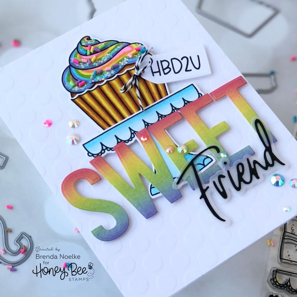 HBD2U Sweet Friend
