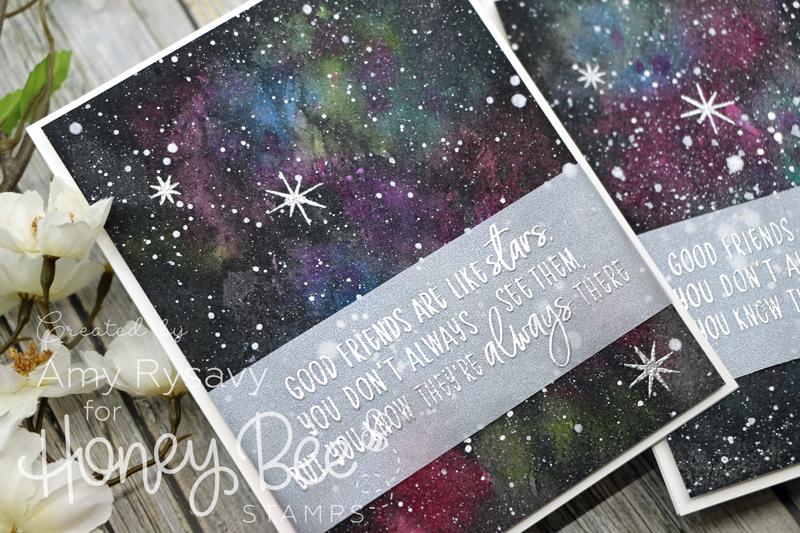 Friendship Galaxy Cards with Amy Rysavy