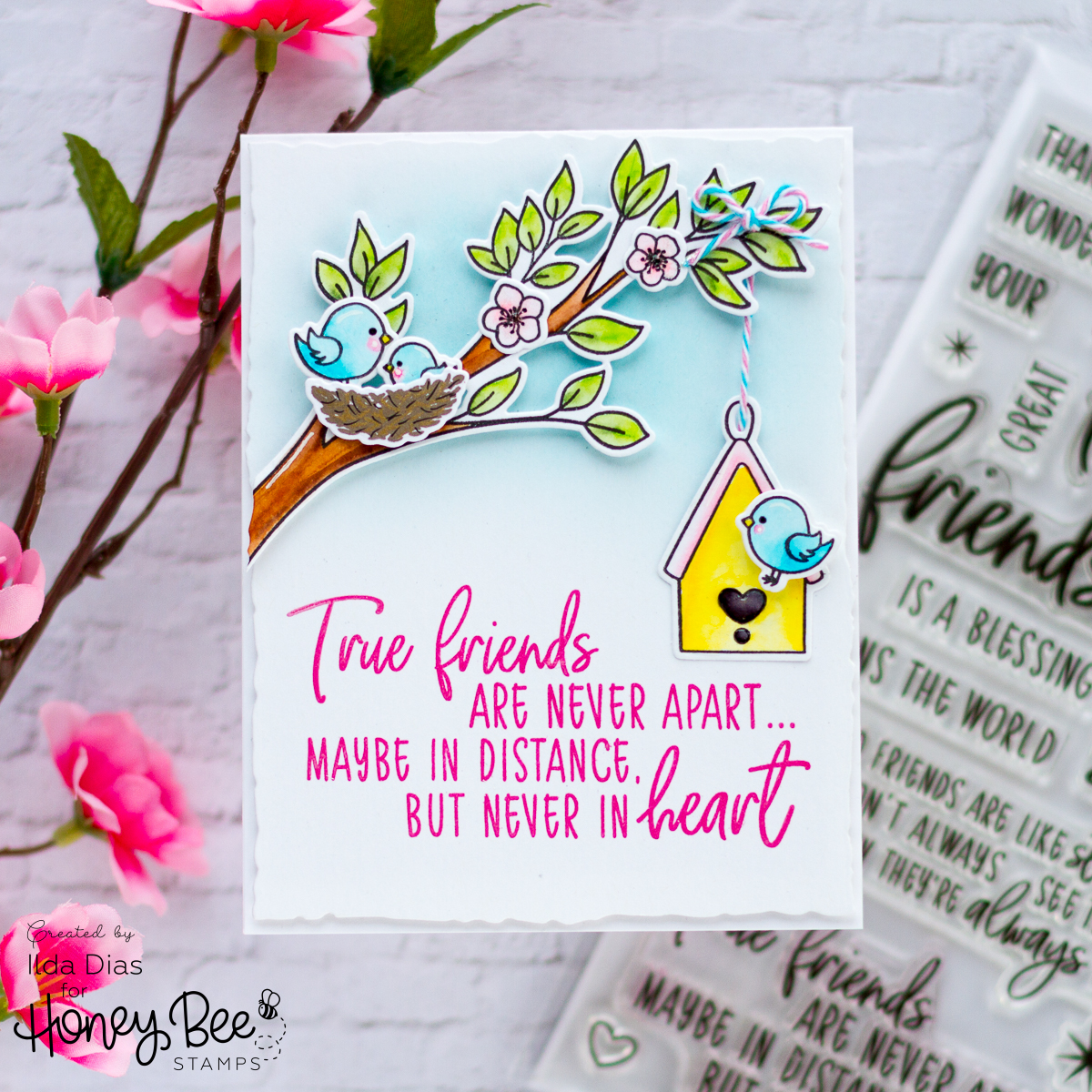 Spring Inspired Friendship Card
