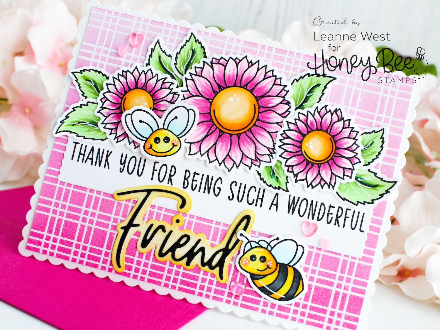 Wonderful Friend Thank You Card