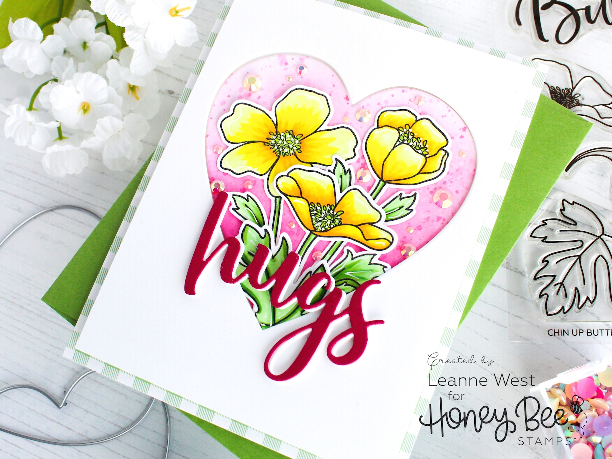 Buttercup Hugs Card