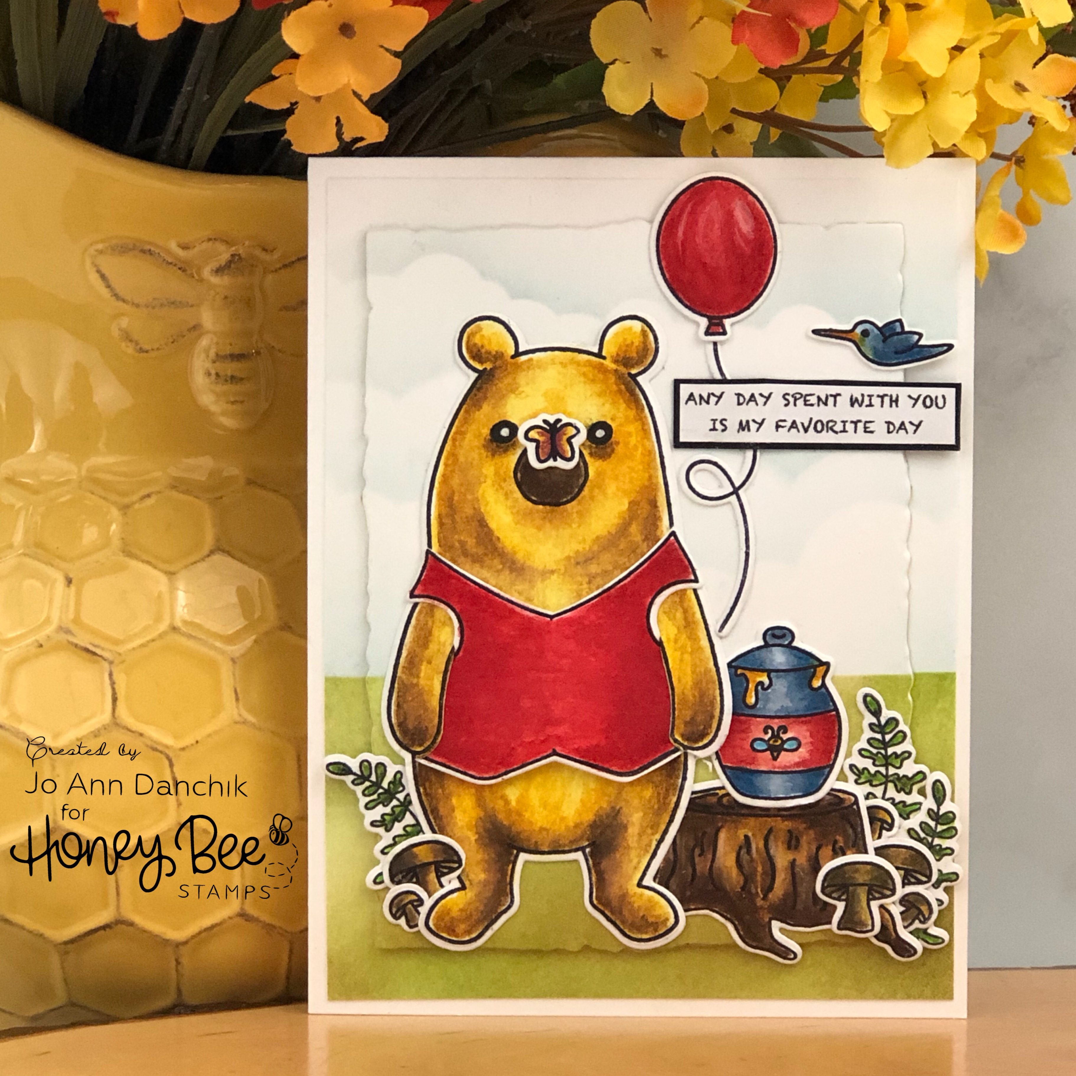 "Creative Sundays With Jo Ann: Bill the ""Pooh"" Bear"