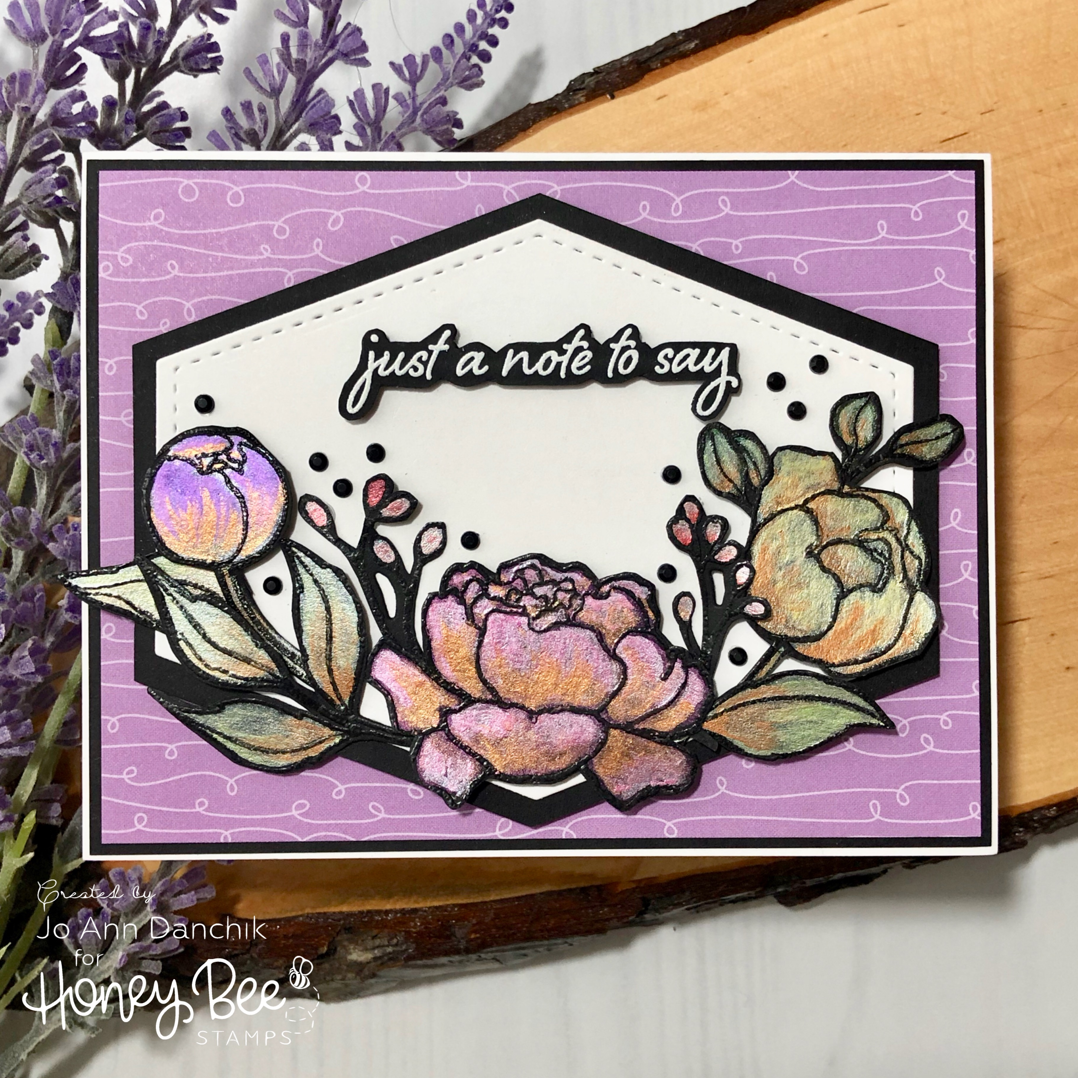 Creative Sundays With Jo Ann: Just A Note To Say