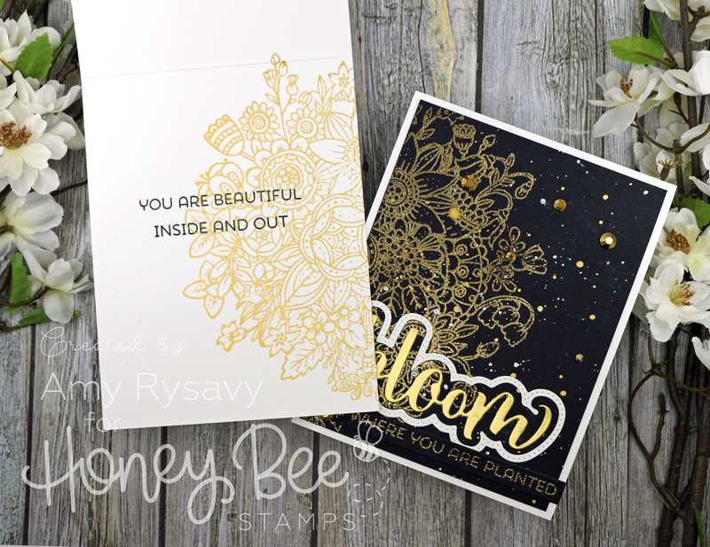 Zen Bouquet in Gold with Amy Rysavy