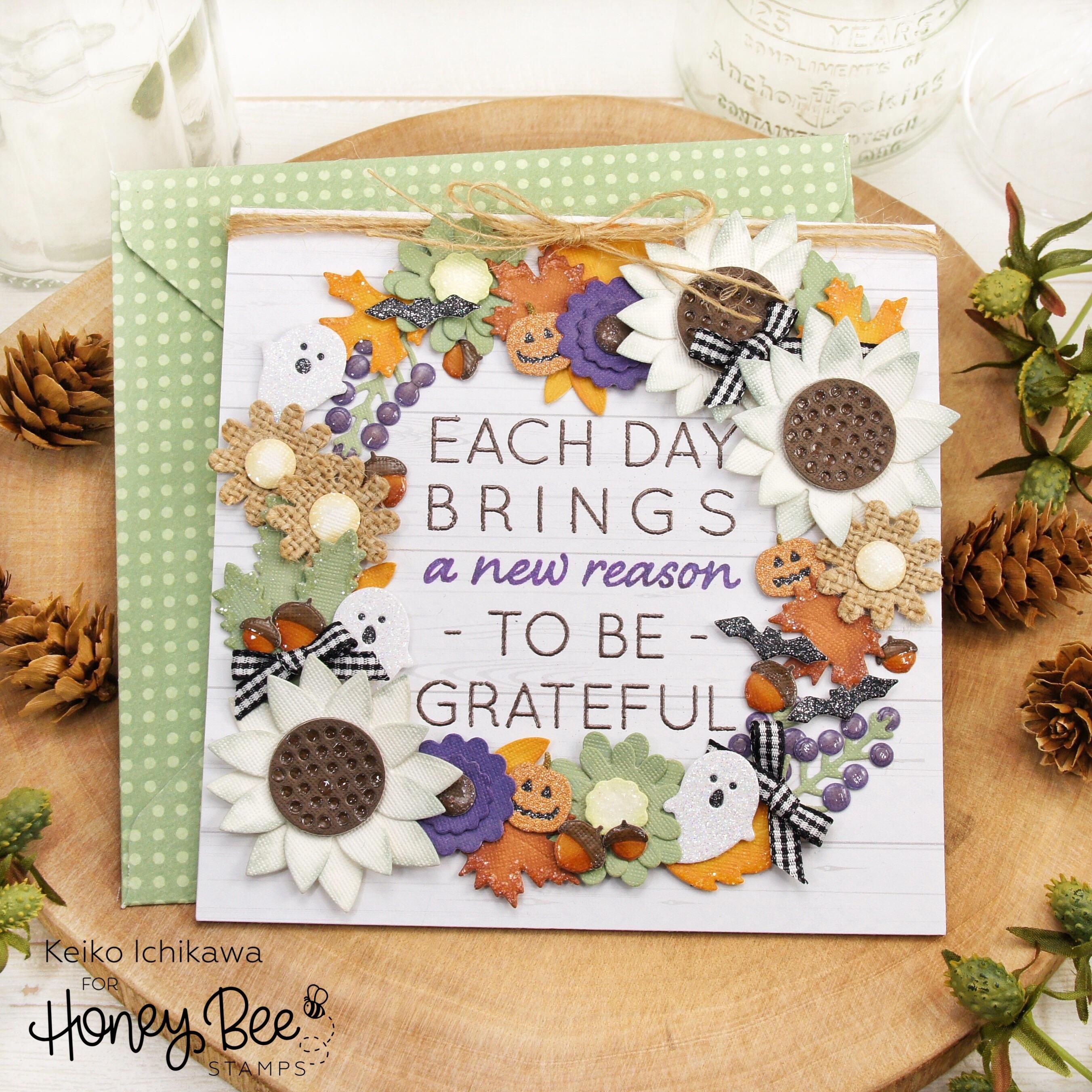 Autumn Wreath Card