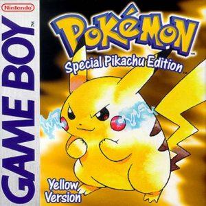 Pokemon Yellow Version game