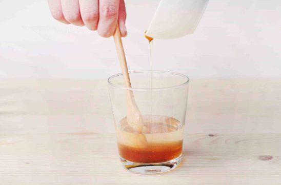 蝶豆花蜂蜜檸檬氣泡水製作步驟2