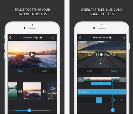 splice video editing app for social video