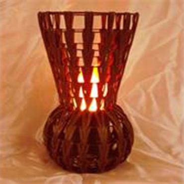 Chevron High Vase Luxa Lamp