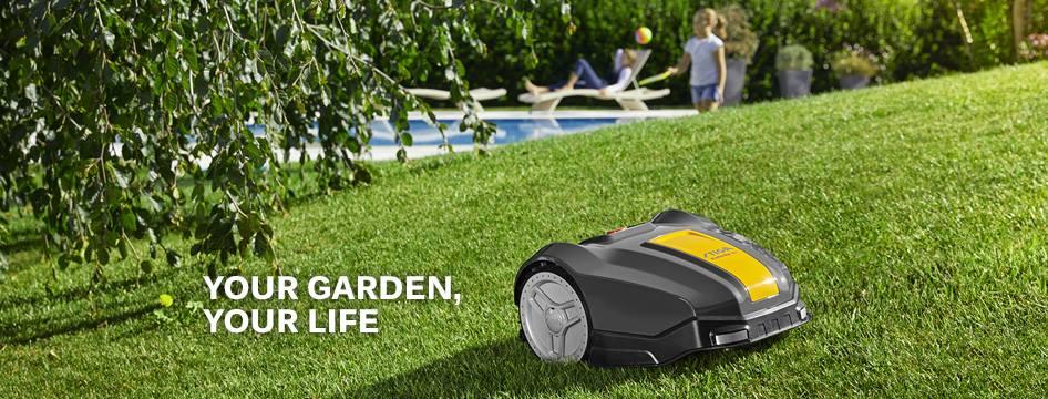 Stiga Robotic Lawnmower