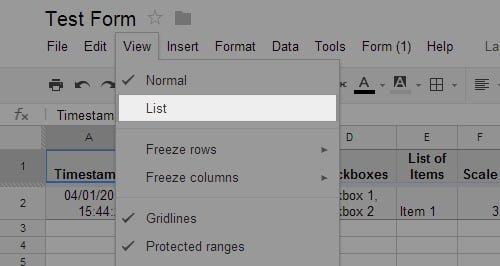 form-list