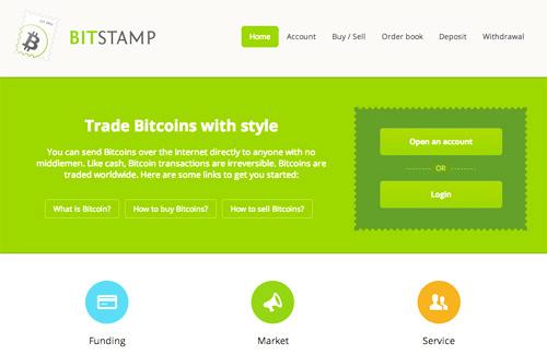 Bitstamp, compra y venta de bitcoin