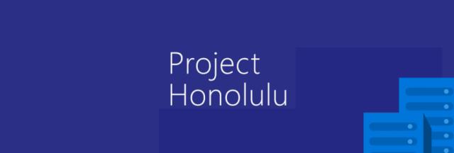 Project-Honolulu
